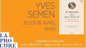 Conférence-dédicace du dernier livre d'Yves Semen