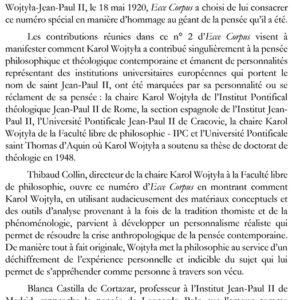 Editorial - Ecce Corpus - Numéro 1