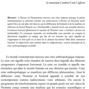 Thibaud COLLIN, Subjectivité sans subjectivisme ? Vers la subjectivation adéquate