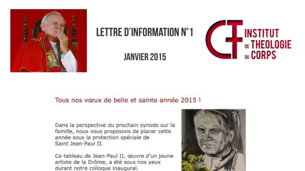 Lettre d'information n°1 - janvier 2015