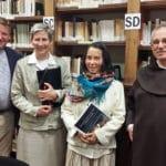 Marie-Madeleine Geslin, nouvelle titulaire du Mastère en théologie du corps